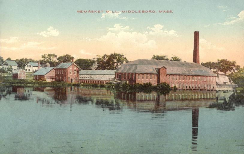 Nemasket Mill, Middleborough, MA