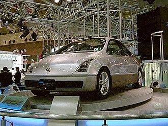 Honda FCX - Honda FCX concept mock up, at Tokyo Motor Show 1999