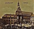 Neues Rathaus und Marktplatz in Düsseldorf (vor 1900).jpg