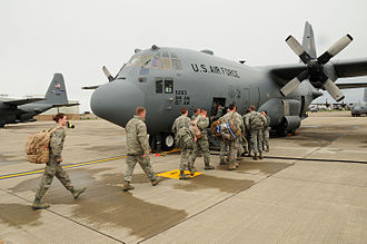 New York Army National Guard - 75 members of the 107th Airlift Wing have deployed downstate to aid in Hurricane Sandy recovery efforts.