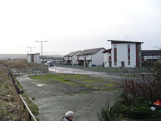 Barrowfield - Image: New housing in Parkhead geograph.org.uk 662474