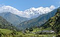 Ngadi Chuli (left) and Himalchuli - Annapurna Circuit, Nepal - panoramio.jpg