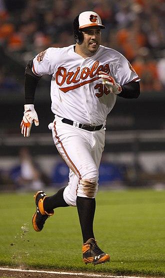 Nick Johnson (baseball) - Johnson with the Baltimore Orioles
