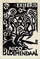 Nico (Nathan) Bloemendaal Ex Libris door Fré Cohen.jpg