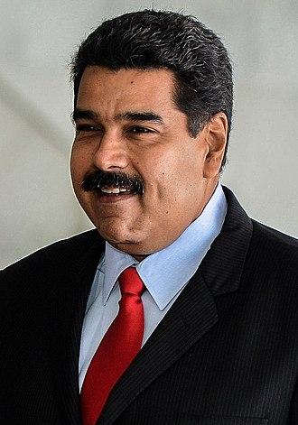 President of Venezuela - Image: Nicolás Maduro crop 2015