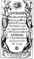 Nicola Porpora - Semiramide reconosciuta - titlepage of the libretto - Venice 1729.png