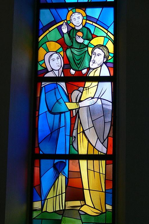 File niederkappel gotische kapelle fenster heilige for Fenster wiki