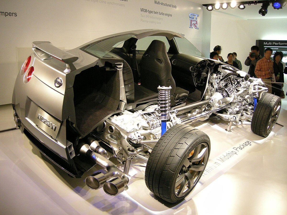 Px Nissan Gt R Cutmodel on 2001 Camaro V6 Engine