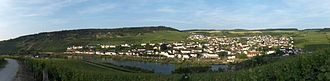 Nittel - Panoramic view of Nittel (photographed from Luxembourg)