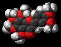 Nobiletin molecule spacefill.png