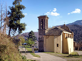 The parish church of Saint-Michel, in Nocario