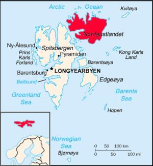 Nordaustlandet - Image: Nordaustlandet