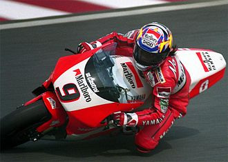 Norifumi Abe - Norick Abe on the Yamaha YZR500