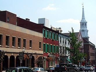 Lancaster, Pennsylvania - Lancaster streetscape