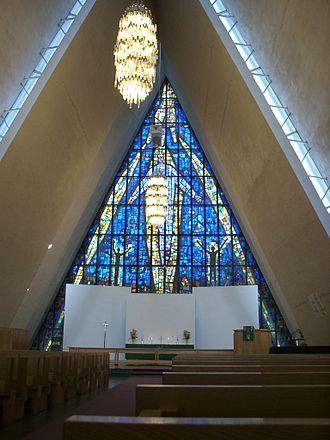 Arctic Cathedral - Image: Norwegen tromso eismeerkathedrale