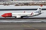 Norwegian (Niels Henrik Abel livery), EI-FHW, Boeing 737-8JP (40269352035).jpg