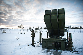 Paskhas - Image: Norwegian Advanced Surface to Air Missile System