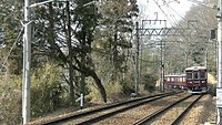 Noseden 7200 test run near Uneno Station.jpg