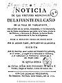 Noticia de las virtudes medicinales de la fuente del caño de la villa de Vabilafuente 1752.jpg