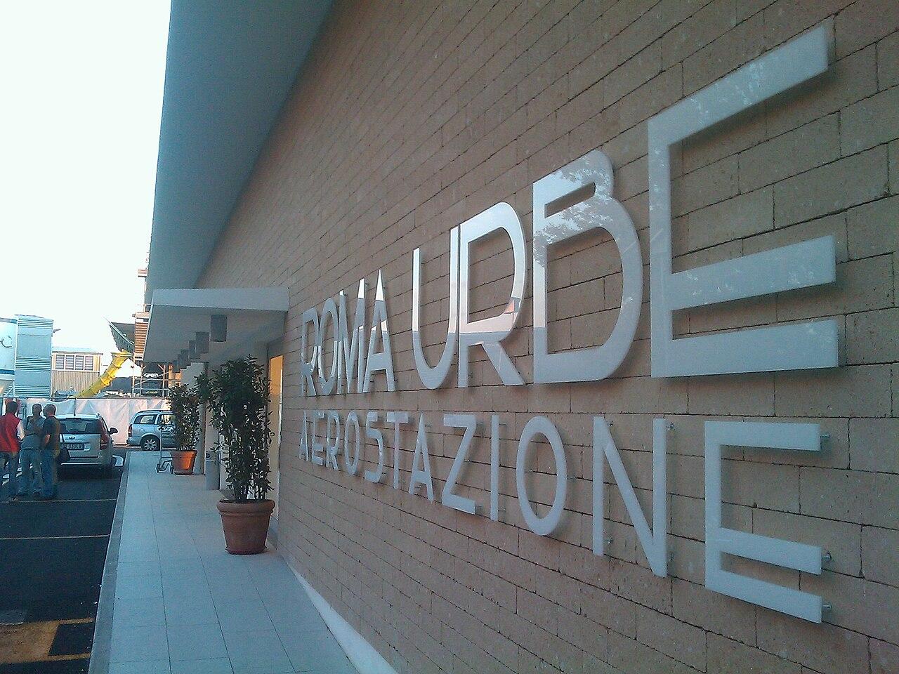 Aeroporto Urbe : File nuova aerostazione aeroporto di roma urbe g wikipedia