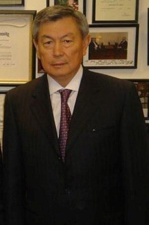 Nurtai Abykayev - Kazakh politician Nurtai Abykayev