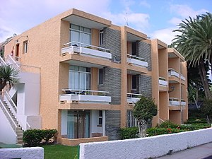 Maspalomas - Typical tourist apartments in Maspalomas: The Oasis Maspalomas Foresta.