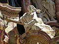 Obernzell Pfarrkirche - Hochaltar 6 Glaube.jpg