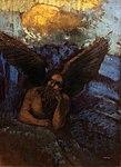 Odilon Redon Sphinx ailé accoudé à un rocher Petit Palais 29122017.jpg
