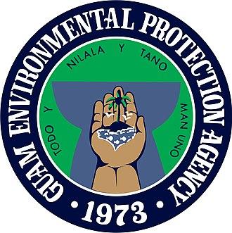 Guam Environmental Protection Agency - Image: Official seal of the Guam Environmental Protection Agency