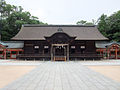 Ohyamazumi Shrine Haiden.JPG