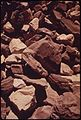 Oil Shale. It Is the Kerogen in This Rock Which When Heated to 900 F., Yields Oil, 10-1972 (3815023283).jpg