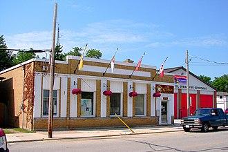 Oil Springs, Ontario - Municipal office