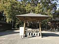 Okayudo Hall of Chiriku Hachiman Shrine.jpg