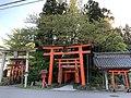 Okunoin, Otomo Inari Shrine, Shibata, Niigata, Japan, April 2021.jpg