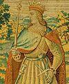 Olofs våben på hans grav