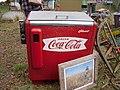 Old Coca Cola cooler seen at the Cameron, NC, Antiques Fair, October 2019.jpg