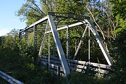 Old bridge along State Route 123