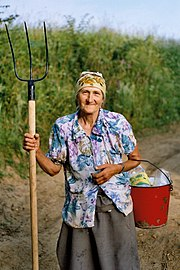 Eastern European farmer