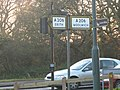 Old style roadsign - geograph.org.uk - 1074287.jpg