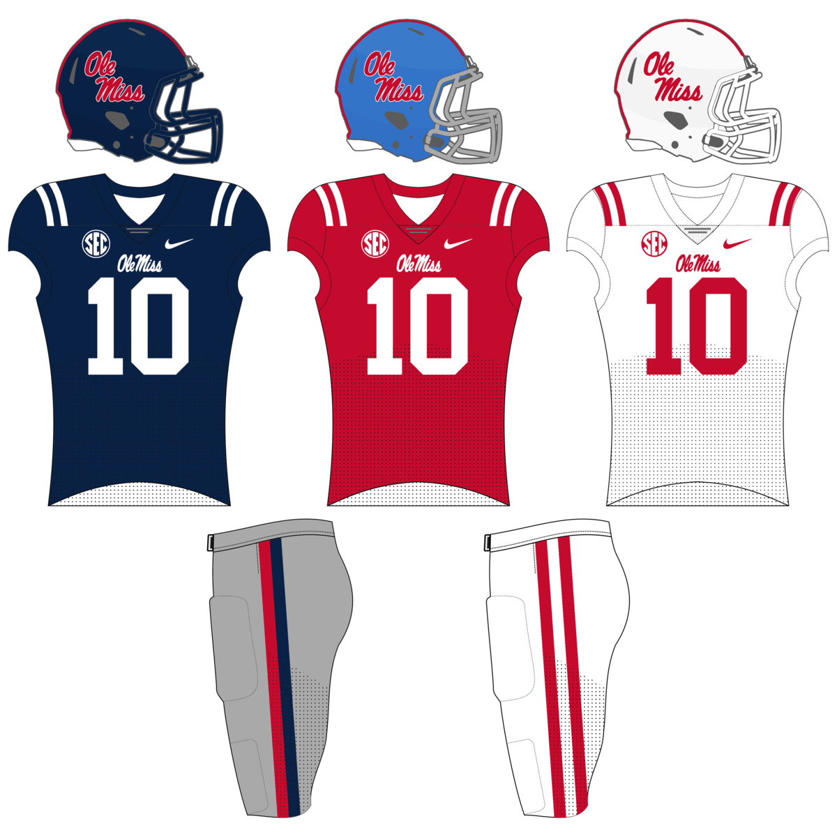 5e00cb5de4d Ole Miss Rebels football - Wikipedia