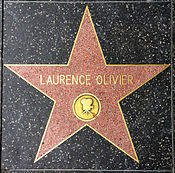 Five-pointed memorial star on pavement