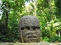 Olmec Head in Villahermosa - Mexico - panoramio.jpg