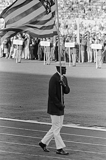 Olympische Spelen te Rome Opening USA vlaggendrager, Bestanddeelnr 911-5404.jpg