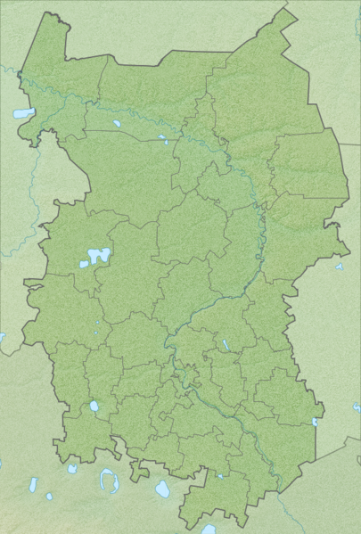 Файл:Omsk Oblast relief.png