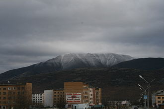Omsukchan - View of Omsukchan