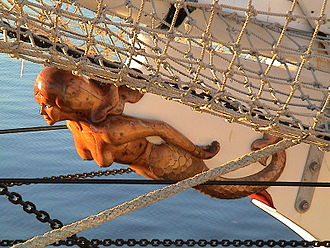 One and All - Image: One and All figurehead