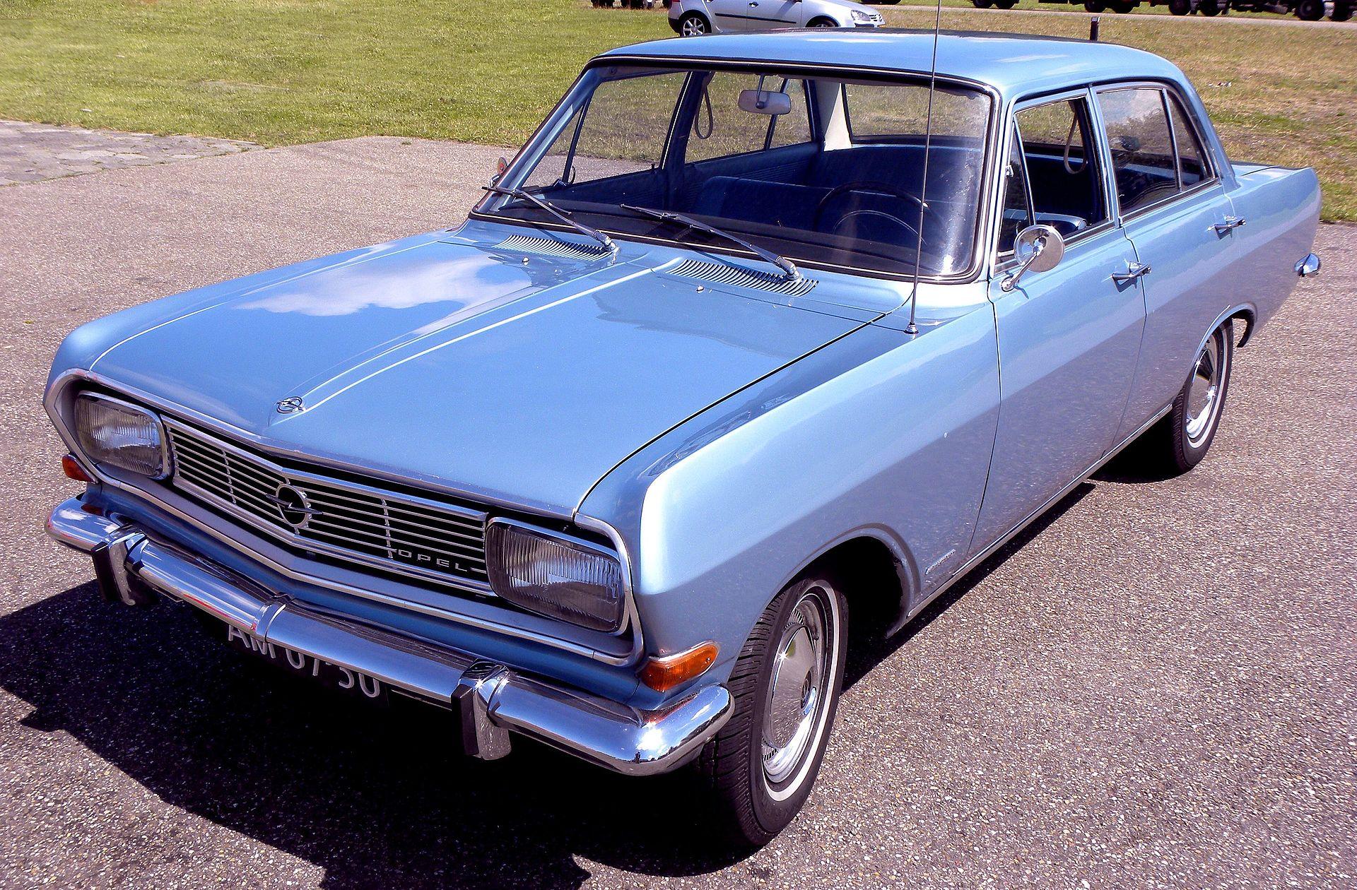 Opel Rekord Series B - Wikipedia