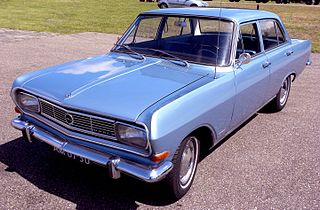 Opel Rekord Series B Motor vehicle