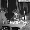 Opening Danlonlustrumschaaktoernooi, mevrouw F. Heemskerk, Bestanddeelnr 911-7094.jpg