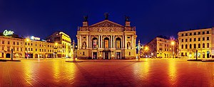 Lviv Theatre of Opera and Ballet - Image: Operny Panorama